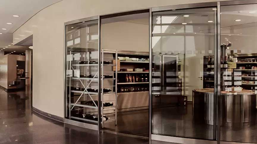Curved Sliding Door with Customised Curvature