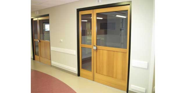 Profiler-ICU SR Swing Door Systems