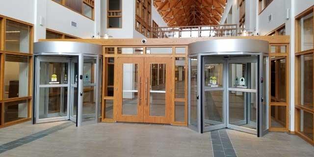 Security Revolving Doors