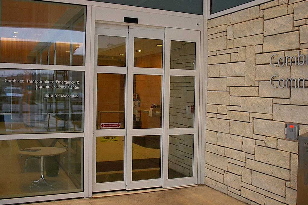 Telescopic Sliding Door